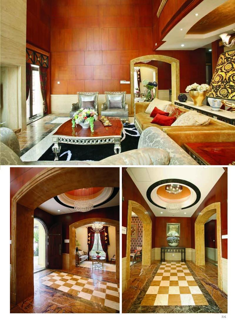 影响中国室内设计进程的168套别墅系列:欧式典雅