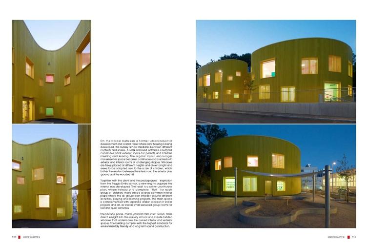 七彩童年——世界当代幼儿园设计