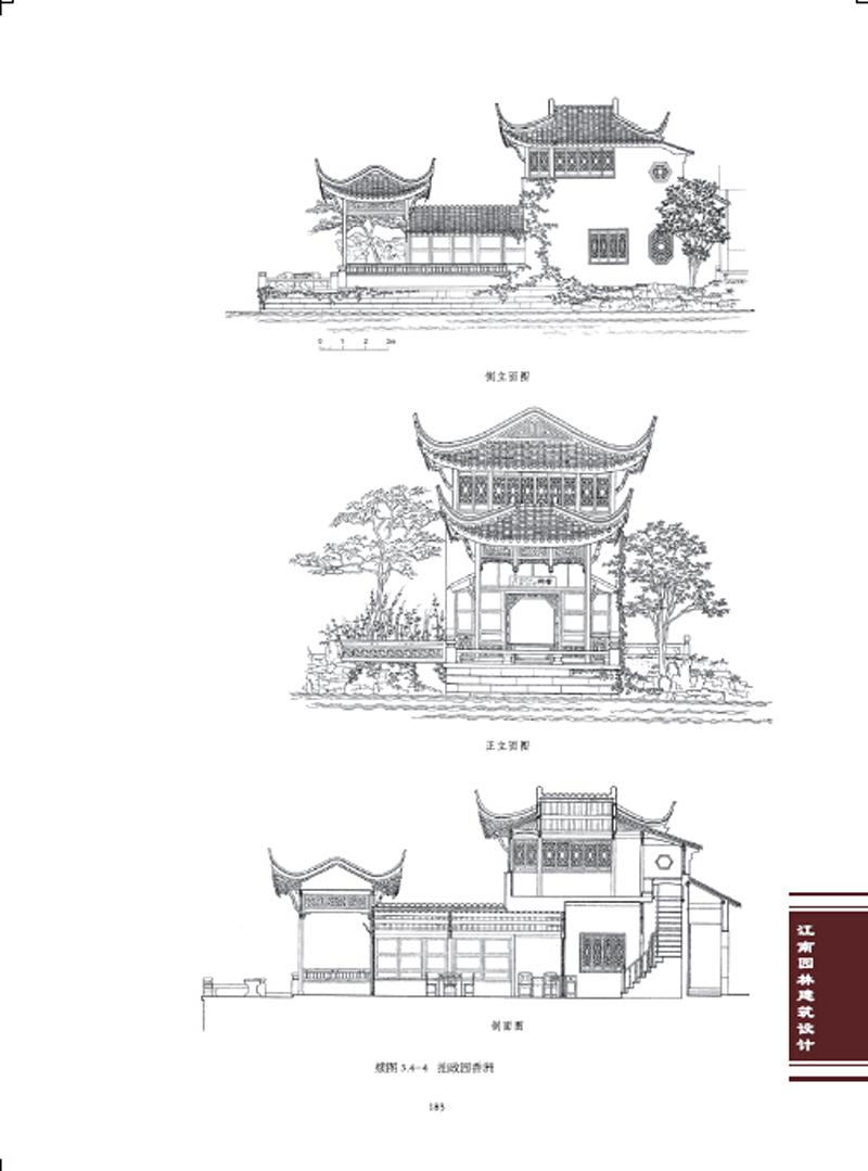 园林简笔画-学建筑设计专业的都需要考哪些证